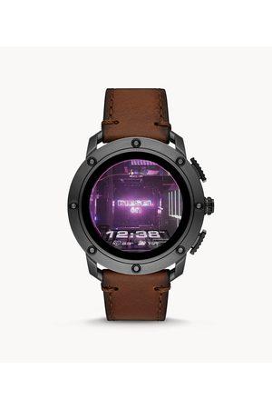 Brands Diesel Men's Axial Smartwatch- Leather