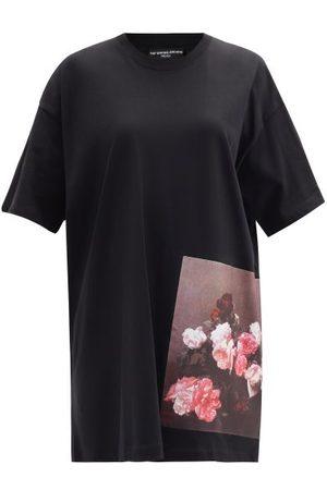 RAF SIMONS Ss18 Longline Cotton-jersey T-shirt - Womens