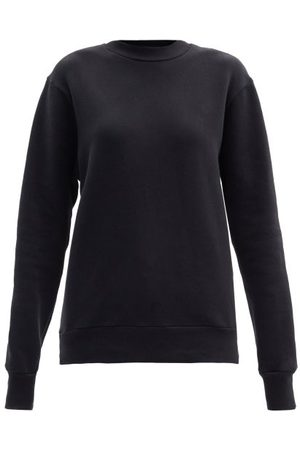 Raey Women Sweatshirts - Crew-neck Cotton-blend Sweatshirt - Womens