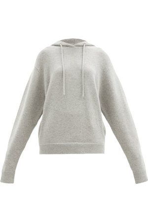 EXTREME CASHMERE No. 90 Be Cool Knitted Hooded Sweatshirt - Womens - Grey