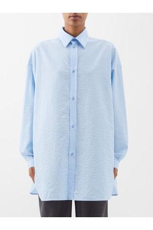 Raey Women Shirts - Oversized Dropped-shoulder Cotton Shirt - Womens