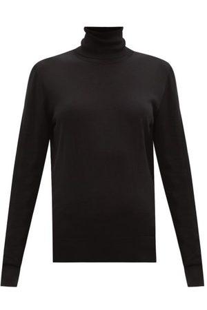 Dolce & Gabbana Roll-neck Wool Sweater - Womens