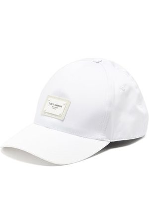 Dolce & Gabbana Logo-plaque Cotton-blend Cap - Mens