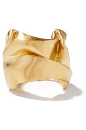 COMPLETEDWORKS Crushed 14kt -vermeil Ring - Womens