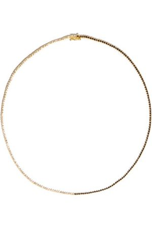 Lizzie Mandler Othello Diamond & 18kt Necklace - Womens