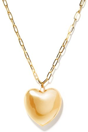 Lauren Rubinski Heart-pendant 14kt- Chain Necklace - Womens