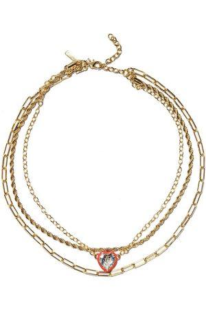 Lele Sadoughi Women Necklaces - Swarovski Crystal Heart Necklace