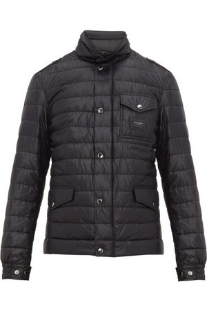 Dolce & Gabbana Multi-pocket Quilted-down Field Jacket - Mens