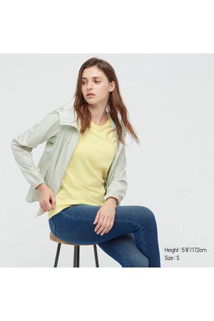 UNIQLO Women's Supima- Cotton Crew Neck Short-Sleeve T-Shirt, , XXS