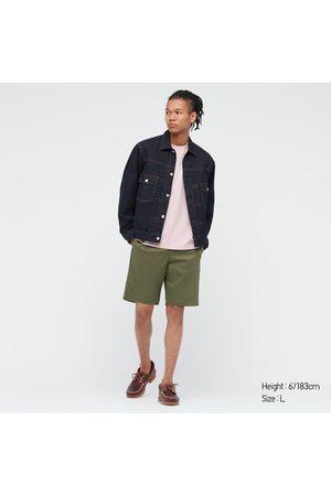 UNIQLO Men Shorts - Men's Dry Stretch Easy Shorts, , S