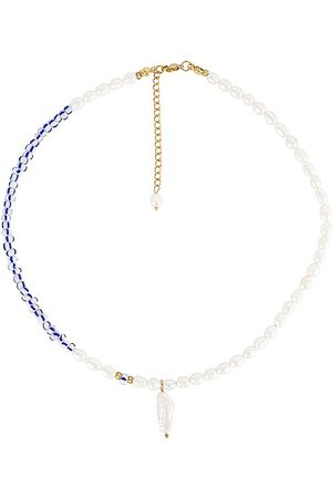 petit moments Harmony Necklace in White.