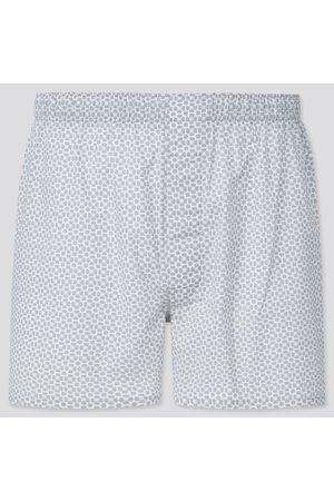 UNIQLO Men Boxer Shorts - Men's Woven Printed Boxers, , S