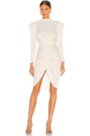 NBD Shaughna Midi Dress in Ivory.