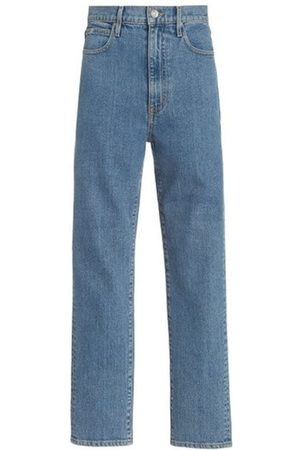 SLVRLAKE Beatnik Ankle Stretch High-Rise Slim-Leg Jeans