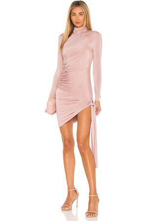 Michael Costello X REVOLVE Aubrey Mini Dress in Blush.