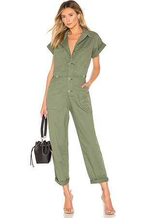 Pistola Women Jumpsuits - Grover Field Suit in Army.