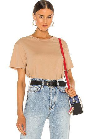 MONROW Women T-shirts - Ex-Boyfriend Tee in Neutral.