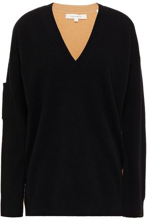 Chinti & Parker Women Sweaters - Woman Two-tone Wool And Cashmere-blend Sweater Size L