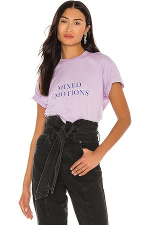 LOCAL HEROES Mixed Emotions Tee in Lavender.