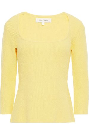 Chinti & Parker Women Tops - Woman Ribbed Cotton-blend Terry Top Pastel Size L
