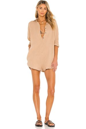 ACACIA Women Playsuits - X REVOLVE Kapaa Romper in Beige.