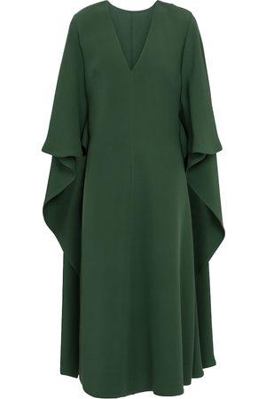 VALENTINO Silk cady midi dress
