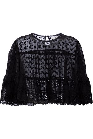 Isabel Marant Women Tops - Tevika broderie anglaise cotton top