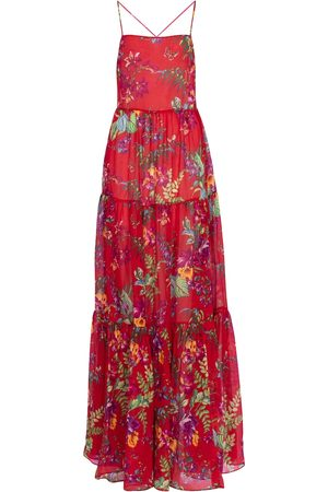 Etro Floral cotton and silk maxi dress