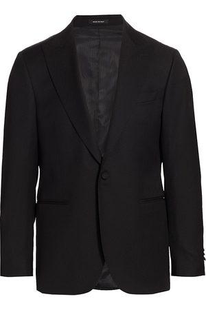 Saks Fifth Avenue Men Blazers - Men's COLLECTION Textured Sportcoat - - Size 38