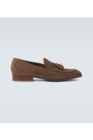 Gianvito Rossi Men Loafers - Julio suede loafers