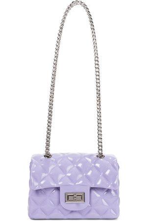 MONNALISA Girls Bags - Matelassé PVC shoulder bag