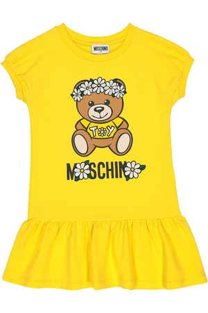 Moschino Logo stretch-cotton T-shirt dress