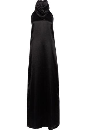 Bottega Veneta Women Maxi Dresses - Satin maxi dress