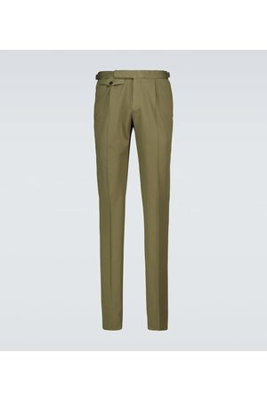 Incotex Men Chinos - Single-pleated chino pants
