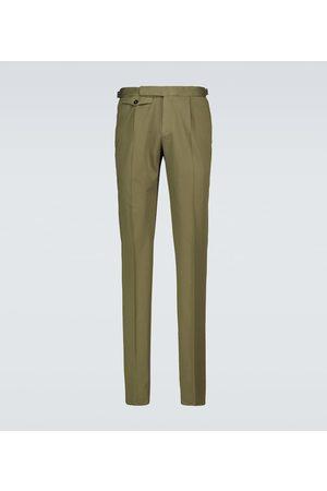 Incotex Men Chinos - Single-pleated chino pants