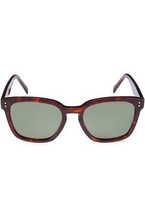 Céline Men Square - Men's 50MM Plastic Square Sunglasses - Havana