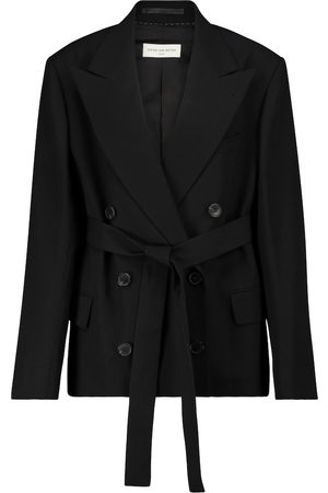 DRIES VAN NOTEN Belted blazer