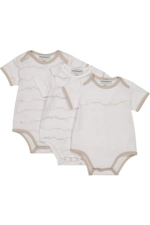 Emporio Armani Baby set of 3 cotton bodysuits
