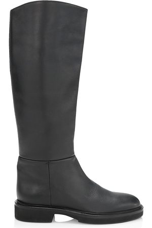 Khaite Women's Derby Knee-High Leather Riding Boots - - Size 11