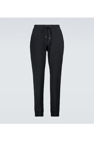 Tom Ford Men Tracksuits - Cotton trackpants