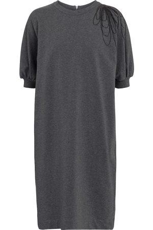 Brunello Cucinelli Stretch-cotton sweatshirt dress