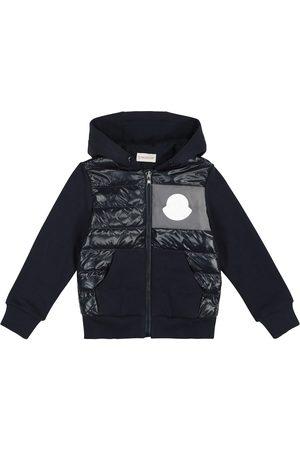 Moncler Boys Hoodies - Quilted down hoodie