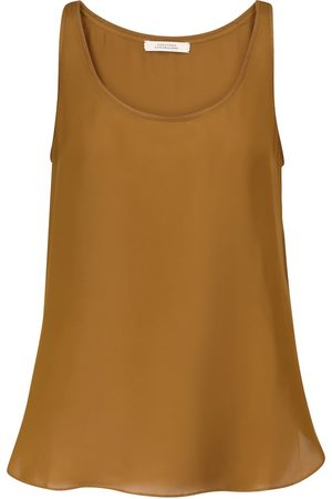 Dorothee Schumacher Women Tank Tops - Fluid Luxury silk tank top
