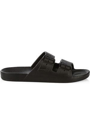 Freedom Moses Women's Two-Band Slide Sandals - - Size 9
