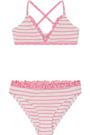Melissa Odabash Girls Bikinis - Baby Sky striped bikini