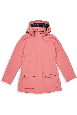Barbour Girls Jackets - Little Girl's and Girl's Clyde Hooded Jacket - - Size 14