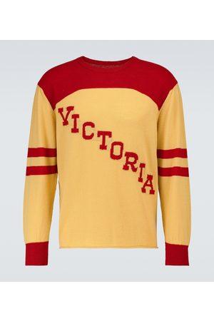 BODE Men Sweatshirts - Victoria crewneck sweater