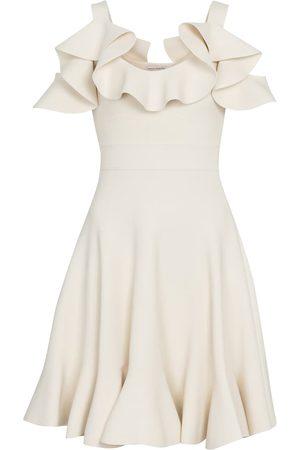 Alexander McQueen Women Strapless Dresses - Off-shoulder minidress