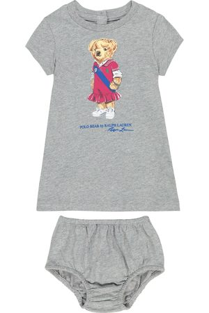 Ralph Lauren Baby Casual Dresses - Baby Polo Bear cotton dress and bloomers set