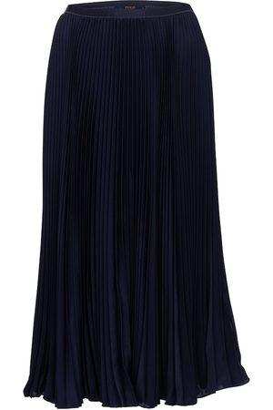 Polo Ralph Lauren Women Maxi Skirts - High-rise pleated maxi skirt